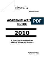 Academic Writing Guide