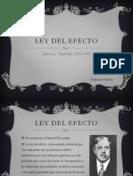 Ley Del Efecto