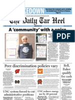 The Daily Tar Heel for October 24, 2011
