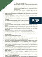 Nursing Basic Concepts NLE