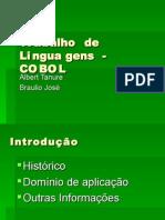 Trabalho de Linguagens - COBOL