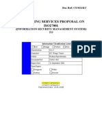 ISMS Consulting Proposal Template
