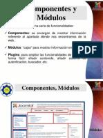 Joomla Componentes y Módulos