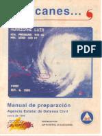 Huracanes.... Manual de Preparación