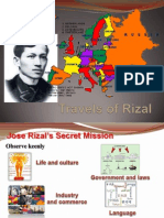 Travels of Rizal