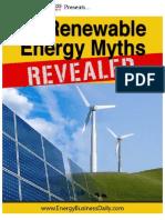 Renewable Myths