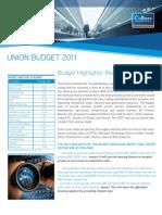 CI Budget Report 2011