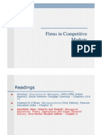 Firmsin competitivemarket