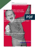 HA SAP on Oracle DataGuard