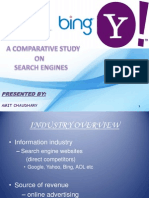 PPT on ion of Yahoo, Google and Bing by Amit Chaudhary New Delhi Institute of Management