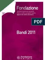 Fondazione Cariplo - FC Bandi2011 Web 2