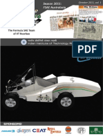 IIT Roorkee Motorsports Newsletter October 2011