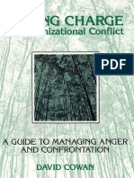 TAKING CHARGE of Organizational Conflict