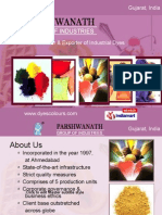 Reactive Dyes Parshwanath Dyestuff Industries Ahmedabad