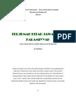 Kitab Jawahirul Kalamiyyah Jilid III