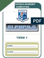 S1 CfE Term 1