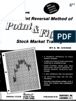 The Three Point Reversal Method of Point & Figure Stock Market Trading by A.W. Cohen