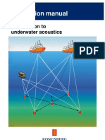 Introduction to Underwater Acoustics