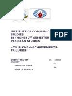 Ayub Khan Hard Copy
