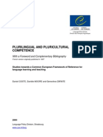 plurilingual and pluricultural competence