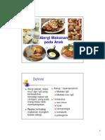 Alergi Makanan Penangkuan Praktis