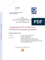 Optimisation des architectures IPMPLS de treansport mutualisé