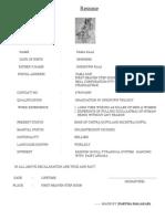 Resume of Yama