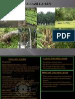 evaluasi lahan 1