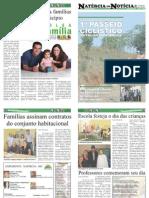 JORNAL NATÉRCIA EM NOTÍCIA - 6ª EDIÇÃO - OUTUBRO
