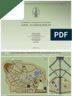 Aleea Academicienilor (Conceptia Complexului Sculptural) Schita Proiect