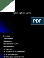 L'Eglise copte en Egypte Presentation