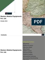 Masters Medical Equipments Pvt. Ltd. - Company Profile