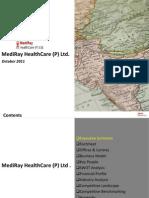 MediRay Healthcare (P). Ltd. - Company Profile 2011