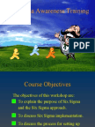 Six Sigma Awareness Training