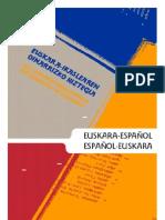 Diccionario Básico para Estudiantes de Euskara
