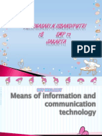 Means of Information and Communication Technology