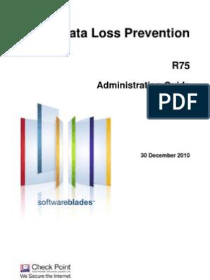 CP R75 Data Loss Prevention AdminGuide 1