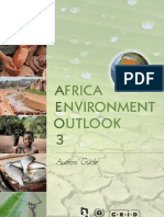 Africa Environment Outlook 3 - Authors guide
