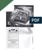 Manual Digitech Rp 50