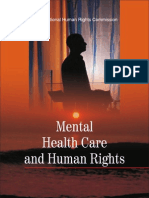 Mental Health Care and Human Rights - NHRC India