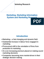 Unit 1 - Marketing, Marketing Information System and Marketing Research