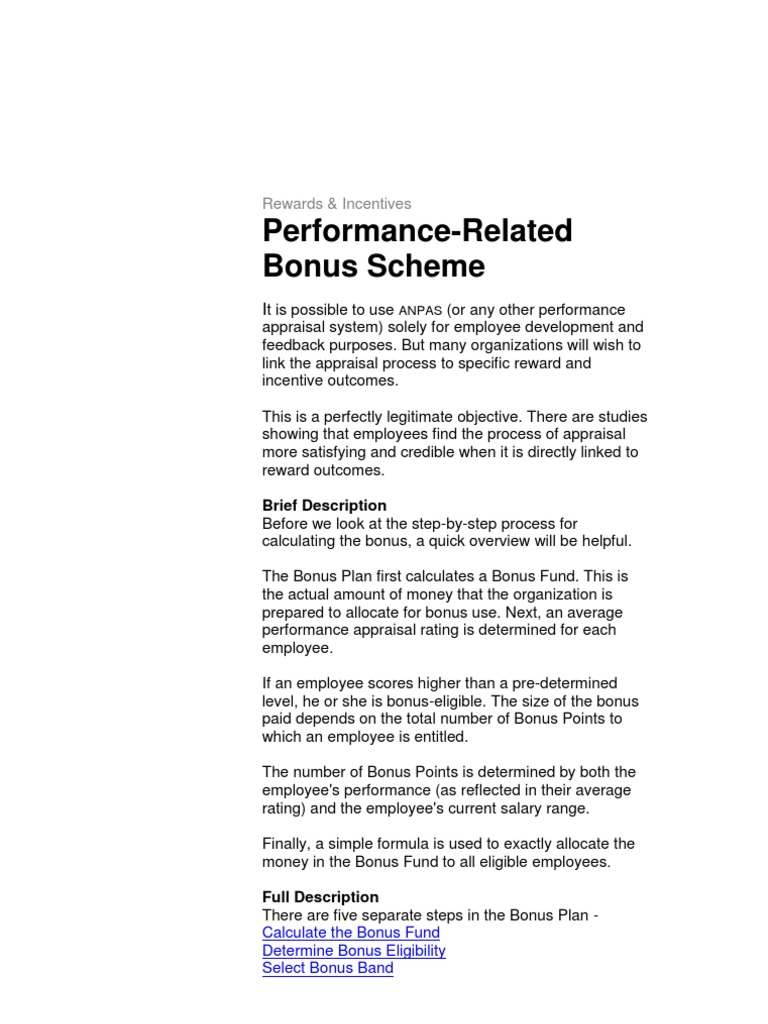 performance appraisal and rewards