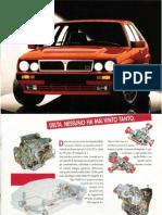 Depliant 2 -Lancia Delta 2.0 16v HP Integrale 1993