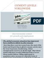 Employment Levels Worldwide