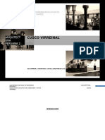 Virreinato Cuzco Monografia Final