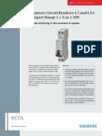 Beta 5ST3 Circuit-breakers Pi En