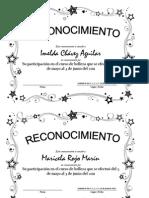 reconocimientos