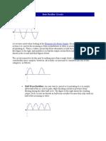 Basic Rectifier Circuits