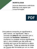 Linguistica_1s_MORFOLOGIA