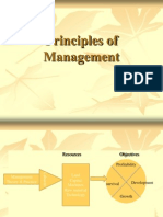 Principles of Management Intro